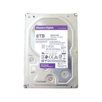 西部数据(WD)WD81PURX 紫盘(Purple) 8TB 监控硬盘