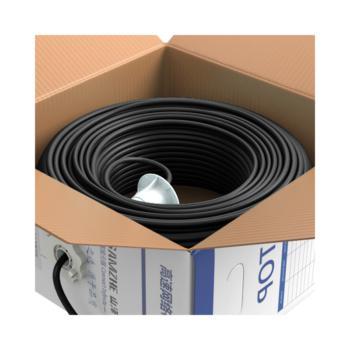 山泽(SAMZHE)超五类室外非屏蔽UTP阻水网线 SZX-5305 黑色 305米/箱