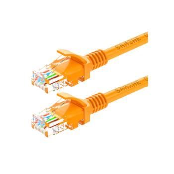 山泽(SHANZE) YL-502 超五类UTP网络跳线CAT5e网线 黄色 2M