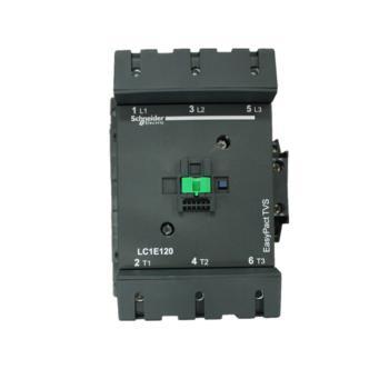 施耐德电气 EasyPact TVS 3P 120A 交流接触器 LC1E120M5N 220VAC