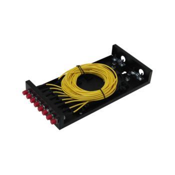 金坤宇(JINKUNYU)8口FC单模满配机架式光缆终端盒 JKY-FC-8M 黑色