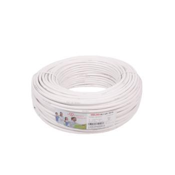 德力西(DELIXI) RVV3*0.5 软电线 白色 100/卷定制