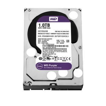 西部数据(WD)WD10EJRX 紫盘(Purple)1TB 监控硬盘