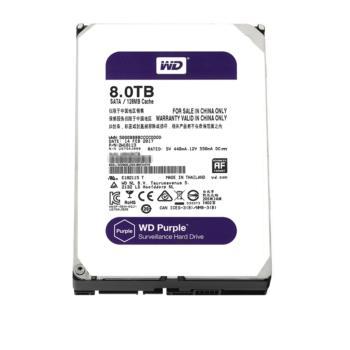 西部数据(WD)WD81EJRX 紫盘 Purple 8TB SATA 监控硬盘