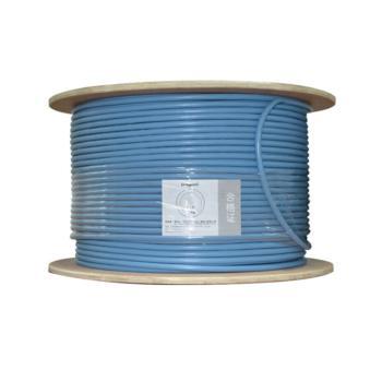 罗格朗(Legrand)六类4对FTP单屏蔽网线 浅蓝色 305米/箱 632722