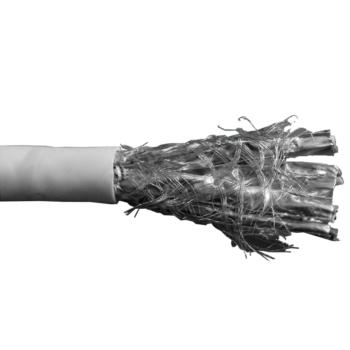 康普(Commscope)七类4对S/FTP低烟无卤双屏蔽网线 白色 305米/箱 57893-3
