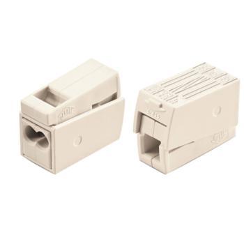 WAGO 德国224-112型白色万能电线连接器 1000只/盒