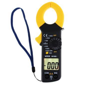 胜利仪器 VICTOR  钳形万用表VC6016B+钳形表 电流表交流0.01A-600A