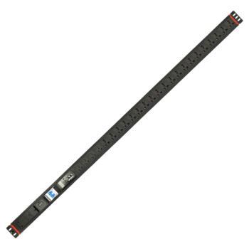 奥盛(Aosens) 1.5U 24位智能PDU电源插座RS485串口监测 防雷报警 国标 新国标孔