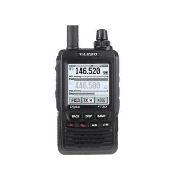 八重洲(YAESU)FT2DR UV双频段数字手持对讲机 内置GPS 触屏操控 手动调频