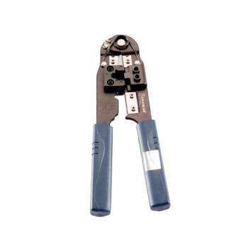 山泽(SAMZHE) 网络压剥剪钳 网络水晶头压接钳单用 SZ-210C
