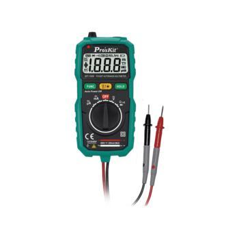 宝工(ProsKit)袖珍型自动数显数字电表电压表电流表 MT-1508