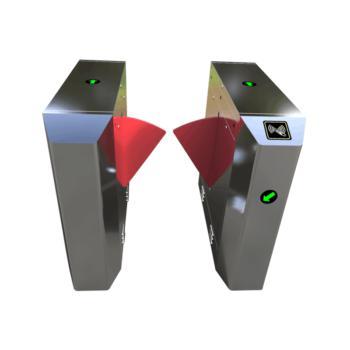 国超智能 GCZN-T35 桥式斜角单机芯翼闸(带控制器读头电源)