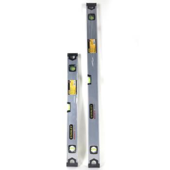 史丹利(STANLEY)磁性三水泡鋁合金水平尺36英寸精銑加工主測量面帶磁性 42-112-23