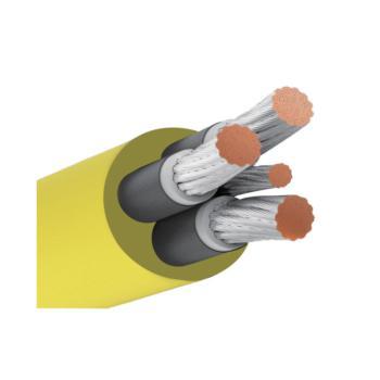 起帆(Qifan)MYP3*70+1*25 0.66/1.14KV煤矿用移动屏蔽橡套软电缆 定制
