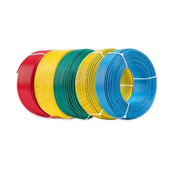 摩恩(Morn)BV-0.75平方 单芯聚氯乙烯绝缘布电线 绿色 100米/卷