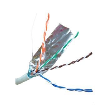 康普(Commscope)超五类4对FTP单屏蔽网线 白色 305米/箱 219413-2