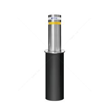 派罗股份 PL-B219-500 不锈钢半自动气压升降柱路障升降地桩 学校遥控路桩防撞柱
