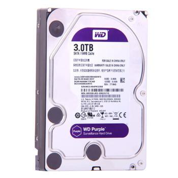 西部数据(WD)WD30EJRX 紫盘(Purple)3TB 监控硬盘