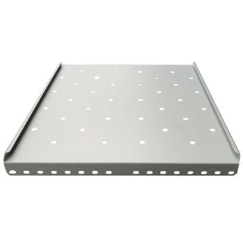 图腾(TOTEN)固定板部件托盘层板适用450440深挂墙机柜W45 1U 承板 白