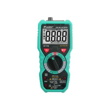 宝工(ProsKit)真有效值多功能数字万用表防烧防误测数显电表 MT-1706-C