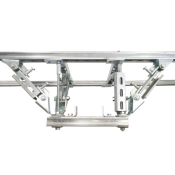 优嘉 支架 电缆桥架侧向纵向抗震支撑 型号HMDU+CCQD02