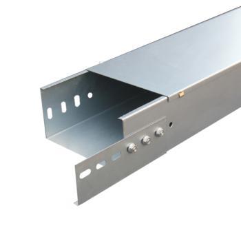 至配 镀锌槽式桥架100*50*0.8(含垂直骑马5cm高度及配套铁膨胀,数量80套,接地线120根