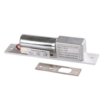 祖程 301D 暗装式电插锁微型小锁不锈钢迷你电插锁门禁锁电子锁