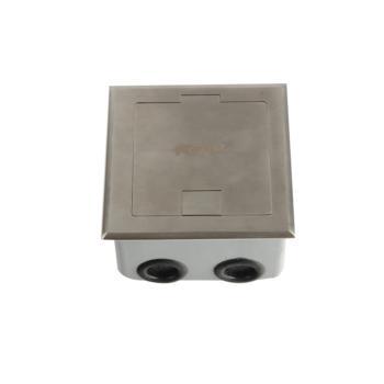 華工電氣 HGD-120Kbr不銹鋼開啟式地面插座音頻+話筒+視頻