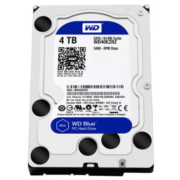 西部数据(WD)蓝盘SATA 6Gb/s台式机硬盘 WD40EZRZ