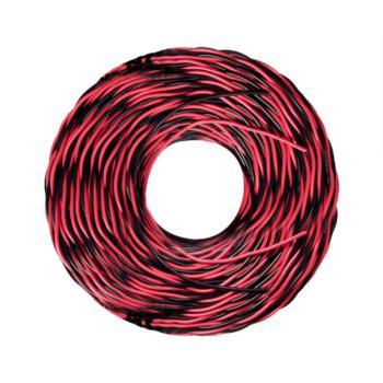 爱谱华顿(AIPU)NH-RVS2*1.0 两芯耐火双绞软电线 红黑 100米/卷