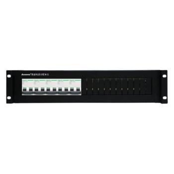 奥盛(Aosens)机柜配电单元PDU配电箱 施耐德直流5个2P空开断路器 架顶电源2U