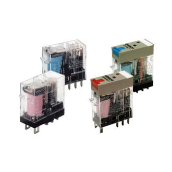 欧姆龙(OMRON)微型功率继电器插入式端子型 1极 动作指示灯内置型 G2R-1-SN