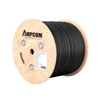 安普康(AMPCOM)超五类室外非屏蔽箱装网线 黑色305米  AMC5EOD51305