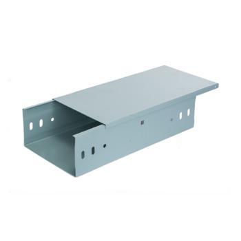 至配(Zhipei) 镀锌槽式电缆桥架线槽400*200,含格挡,(含伸缩节,横担)