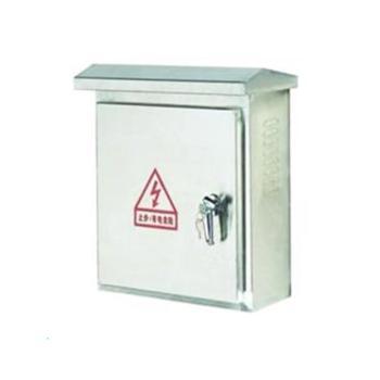 英谷定制室外设备箱600*900*200 不锈钢304板1.2厚,加5公分底座,带帽檐,本色不印字