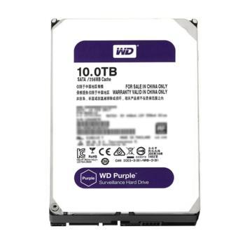 西部数据(WD)WD101EJRX 紫盘(Purple)10TB SATA 监控硬盘