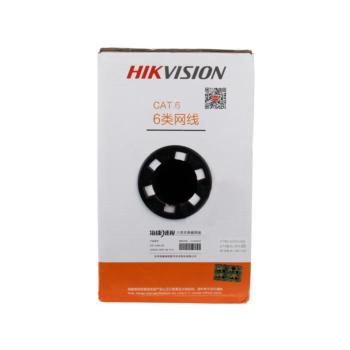 海康威视 六类四对非屏蔽双绞线 橙色 305米/箱 DS-1LN6-UE