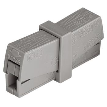 WAGO 德国224-201型灰色万能电线连接器 50只/盒