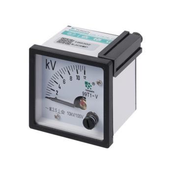 天正电气(TENGEN)电流电压表 99T1-V10KV/100V 12KV 09021710014