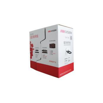 海康威视 超五类非屏蔽室外网线 黑色 305米/盘 DS-1LN5EO-UU/E