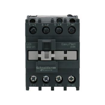 施耐德电气 EasyPact D3N交流接触器220VAC 3P32A3NO LC1N3201M5N