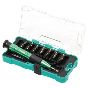 宝工(ProsKit)30件套 铝合金手柄精密起子组 可拆苹果手机 钟表起子 SD-9608