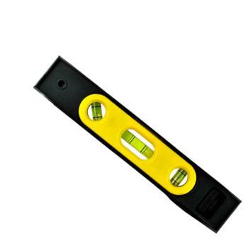 史丹利(STANLEY)磁性塑身魚雷式水平尺工程塑料尺身帶磁性3水泡 STHT42264-8-23