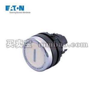 伊顿电气 平齐弹簧复位带灯按钮头;A22-RLT-GN