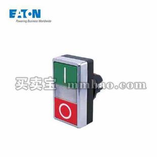 伊顿电气 双位按钮头,上下全为黑色;A22-QDDL-01/01