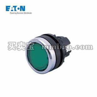 伊顿电气 凸头弹簧复位带灯按钮头;A22-RLTR-GE