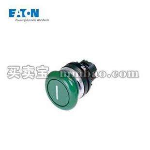 伊顿电气 蘑菇头,弹簧复位,绿;A22-RP-GN11