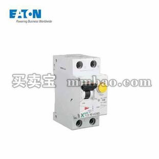 伊顿电气 电子式过载保护漏电断路器PLD9,16A,C,1N,30mA,AC,瞬动型;PLD9-16/1N/C/003