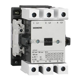 西门子 交流接触器;3TF4711-0XQ0 380V 63A